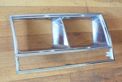 Original 1984-1985-1986-1987 Lincoln Continental Headlight Bezel-RH