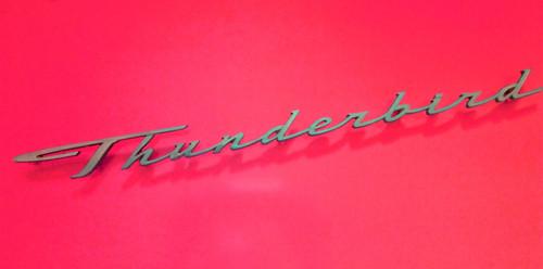 Original 1964 Ford Thunderbird Fender Emblem-Badge