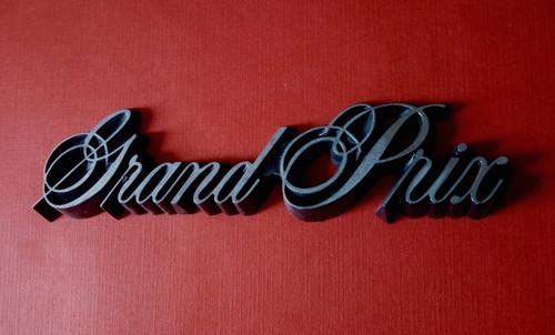 1987 Pontiac Grand Prix Door Emblem-Badge 1986 Pontiac Grand Prix Door Emblem-Badge 1985 Pontiac Grand Prix Door Emblem-Badge 1984 Pontiac Grand Prix Door Emblem-Badge