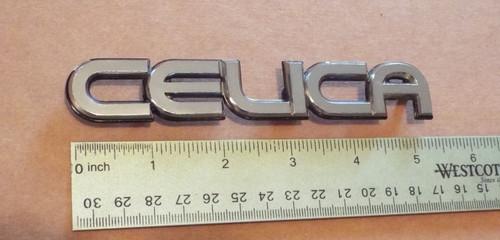 Original 1986-1987-1988-1989 Toyota Celica-Celica Trunk-Hatch Emblem-Badge