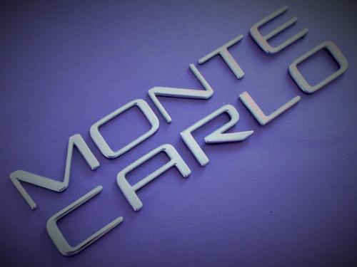 1999 Chevrolet Monte Carlo-Quarter Panel Emblem 1998 Chevrolet Monte Carlo-Quarter Panel Emblem 1997 Chevrolet Monte Carlo-Quarter Panel Emblem 1996 Chevrolet Monte Carlo-Quarter Panel Emblem 1995 Chevrolet Monte Carlo-Quarter Panel Emblem