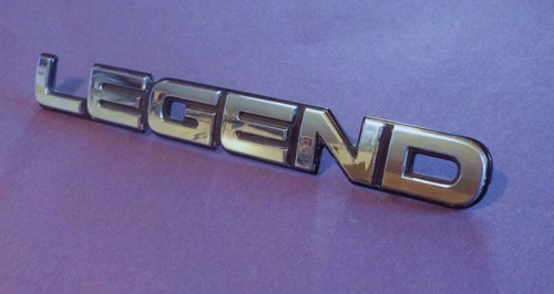 Original 1990-1991-1992-1993 Acura Legend-Legend Trunk Lid Emblem-Badge