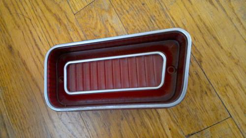 1969 Chevrolet Caprice Outer Tail Light Lens-RH 1969 Impala Outer Tail Light Lens-RH
