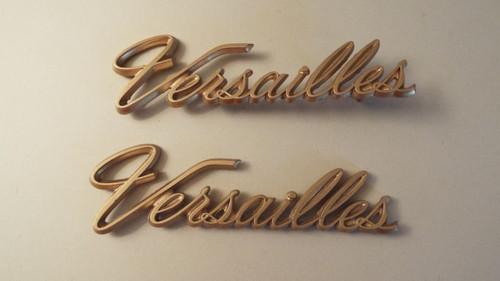 1980 Lincoln Versailles Sail Panel Emblem-Badge 1979 Lincoln Versailles Sail Panel Emblem-Badge