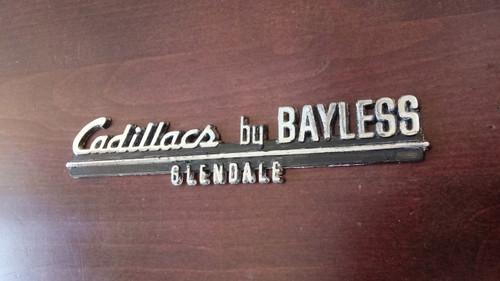 Cadillacs by Bayless Dealership Emblem