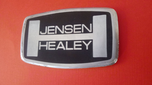 1976 Jensen Healey Horn Pad Emblem 1975 Jensen Healey Horn Pad Emblem 1974 Jensen Healey Horn Pad Emblem 1973 Jensen Healey Horn Pad Emblem 1972 Jensen Healey Horn Pad Emblem