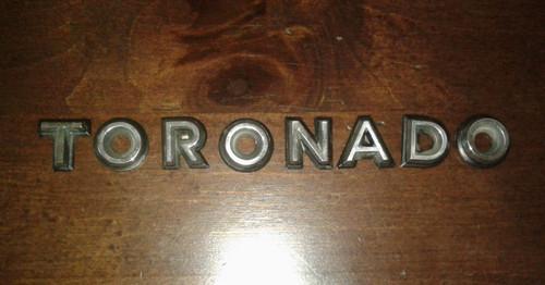 1981 Oldsmobile Toronado-Toronado Letters Emblem 1980 Oldsmobile Toronado-Toronado Letters Emblem 1979 Oldsmobile Toronado-Toronado Letters Emblem