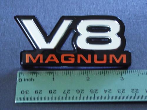 2000 Dodge Dakota-Dodge Durango Magnum V8 Fender Emblem-Badge  1999 Dodge Dakota-Dodge Durango Magnum V8 Fender Emblem-Badge  1998 Dodge Dakota-Dodge Durango Magnum V8 Fender Emblem-Badge
