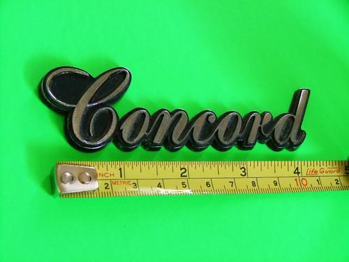 1979-1980-1981-1982-1983 AMC Concord Trunk Lid Emblem-Badge