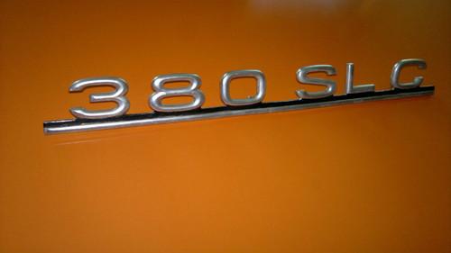 Original 1980-1981-1982-1983-1984-1985 Mercedes Benz 380SLC Trunk Lid Emblem