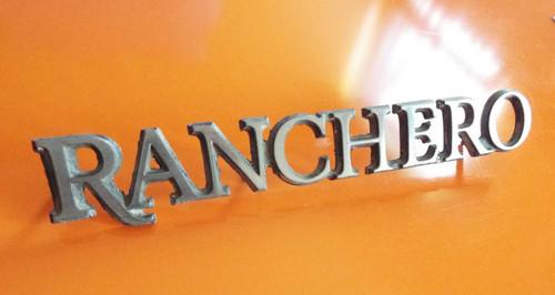 1977 Ford Ranchero- Ranchero Emblem-Badge-Nameplate 1978 Ford Ranchero- Ranchero Emblem-Badge-Nameplate 1979 Ford Ranchero- Ranchero Emblem-Badge-Nameplate