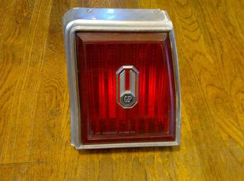 1981-1982-1983-1984 Pontiac Grand Prix  Passenger Side Tail Light-RH