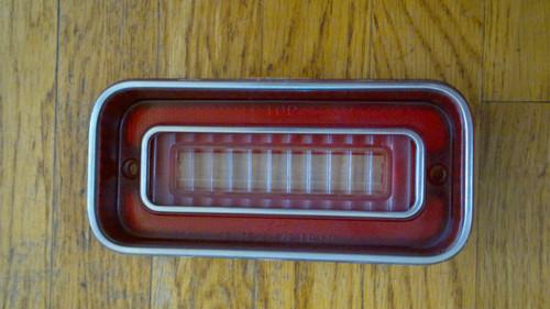 1969 Chevrolet Caprice Reverse Light-Back up Lens 1969 Chevrolet Impala Reverse Light-Back up Lens