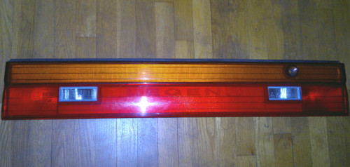 1989-1990 Acura Legend Reverse Light and Trunk Lid Reflector Panel
