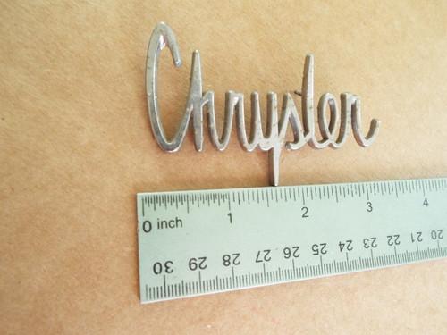 Original 1963 Chrysler 300J - 1963 Chrysler New Yorker Dashboard Emblem-Badge