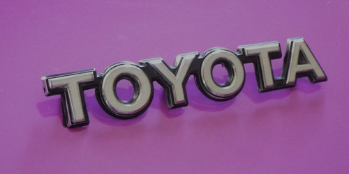 1985-1986-1987-1988-1989 Toyota Celica Hatch-Trunk Lid Emblem-Nameplate