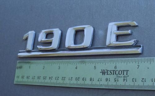 1983-1984-1985-1986-1987-1988-1989-1990-1991-1992-1993 Mercedes Benz 190E Trunk Lid Emblem-Badge