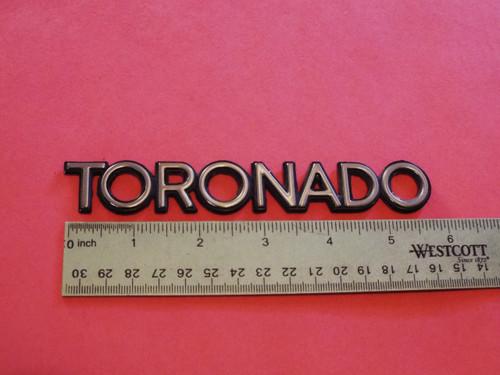 Original 1986-1987-1988-1989 Oldsmobile Toronado Tail Light Panel or Trunk Lid Emblem-Badge