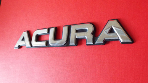 1990 Acura Legend -Acura Trunk Lid Emblem-Badge 1989 Acura Legend -Acura Trunk Lid Emblem-Badge 1988 Acura Legend -Acura Trunk Lid Emblem-Badge 1987 Acura Legend -Acura Trunk Lid Emblem-Badge