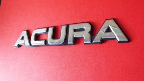 1990 Acura Legend -Acura Trunk Lid Emblem-Badge 1989 Acura Legend -Acura Trunk Lid Emblem-Badge 1988 Acura Legend -Acura Trunk Lid Emblem-Badge 1987 Acura Legend -Acura Trunk Lid Emblem-Badge