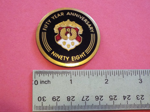 1991 Oldsmobile 98 Fifty Anniversary Fender Emblem-Badge