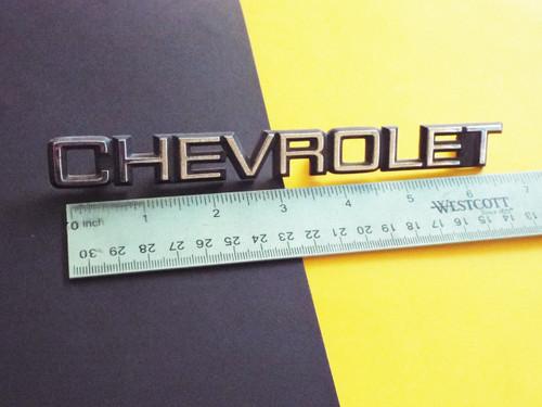 1988 Chevrolet Nova-Chevrolet Hatch/Trunk Lid Emblem-Nameplate 1987 Chevrolet Nova-Chevrolet Hatch/Trunk Lid Emblem-Nameplate 1986 Chevrolet Nova-Chevrolet Hatch/Trunk Lid Emblem-Nameplate 1985 Chevrolet Nova-Chevrolet Hatch/Trunk Lid Emblem-Nameplate