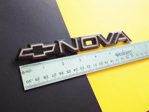 1985-1986-1987-1988 Chevrolet Nova Fender Emblem-Badge