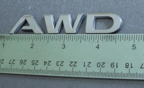 Original 2009-2010 Pontiac Vibe AWD Liftgate Emblem-Badge