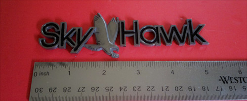 1982-1983-1984-1985-1986-1987-1988-1989 Buick Skyhawk Fender Emblem-Badge