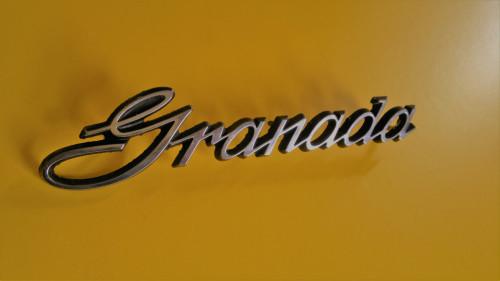 Original 1975-1976-1977-1978 Ford Granada Fender Emblem-Badge