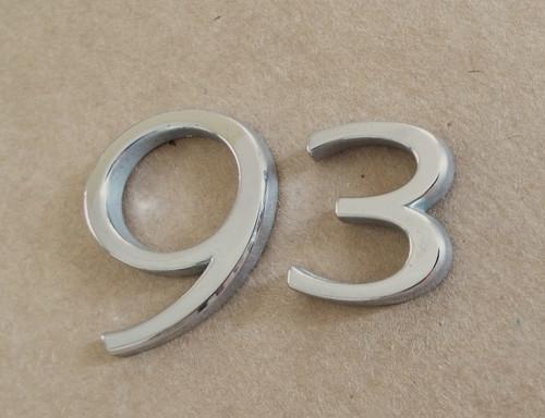 Original 1999-2000-2001-2002-2003-2004-2005-2006 Saab 9-3 Emblem-Badge