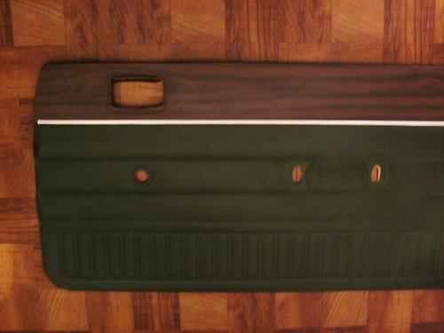 Original 1974-1973 Dodge Dart Coupe-2 Door  Passenger Side Door Panel-Green