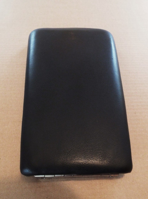 Original 1980-1981-1982-1983-1984-1985-1986-1987 Jaguar XJS-XJ6 Console Storage Box Lid-Center Armrest-Black