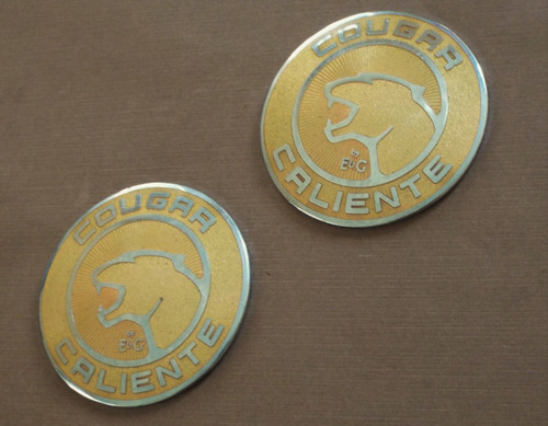 Mercury Cougar Caliente' Edition by E&G Sail Panel Emblem-Badge