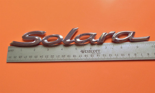 1998-1999-2000-2001-2002-2003 Toyota Solara-Solara Trunk Lid Emblem-Badge