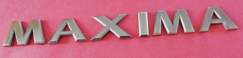 2002-2003 Nissan Maxima Trunk Lid Emblem-Badge