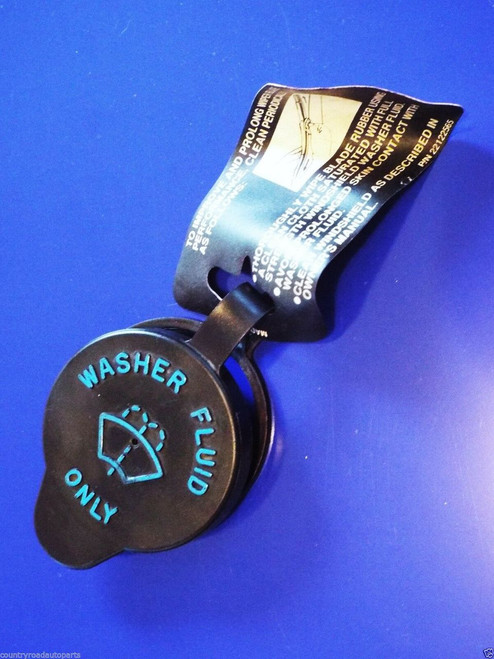 1994-1995-1996 Chevrolet Caprice-Impala SS Windshield Washer Fluid Jar Lid Label