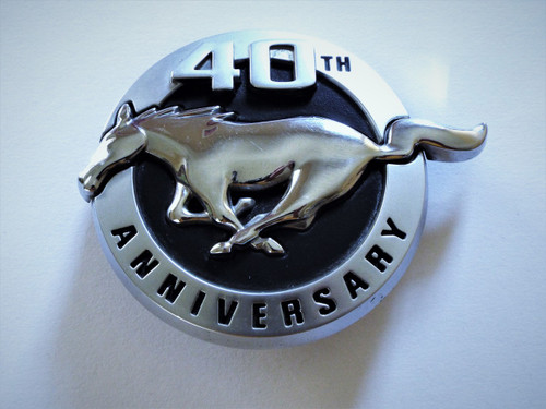 2004 Ford Mustang 40th Anniversary Fender Emblem-Badge-LH