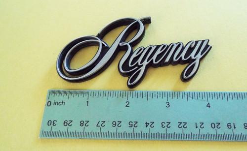 1986-1987-1988 Oldsmobile 98 Regency Fender Emblem-Badge