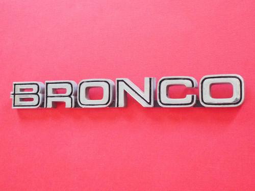 1980-1981-1982-1983-1984-1985-1986 Ford Bronco Fender Emblem-Badge