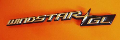 Original 1994-1995-1996-1997 Ford Windstar Emblem-Badge