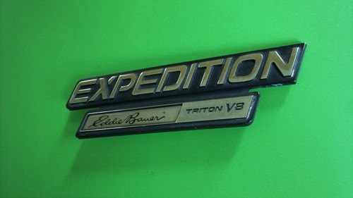 Original 2001-2002 Ford Expedition Eddie Bauer Emblem-Badge