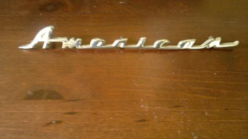 Original 1958-1959-1960 Rambler American Fender Emblem-Badge