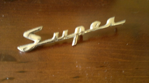 Original 1958-1959-1960 Rambler American Super Emblem-Badge