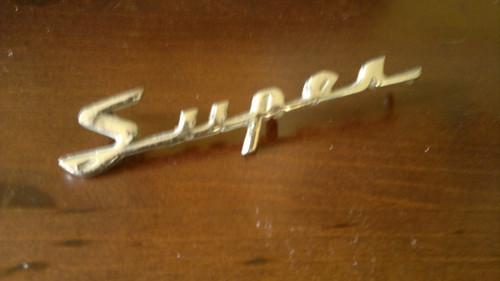 Original 1958-1959-1960 Rambler American Super Emblem-Badge