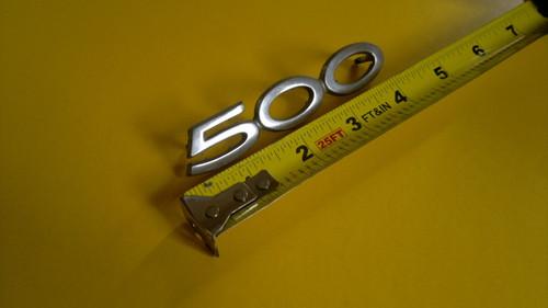 Original 1974-1975-1976 Ford Ranchero 500 Fender Emblem-Badge