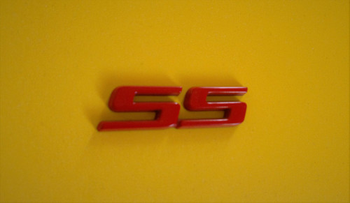 2001-2002-2003-2004-2005 Chevrolet Monte Carlo SS Trunk Lid Emblem-Badge