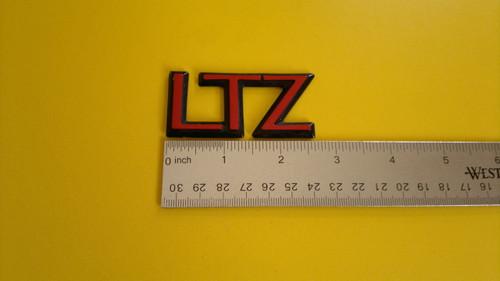 1991 Chevrolet Corsica LTZ-LTZ Trunk Lid Emblem-Badge 1990 Chevrolet Corsica LTZ-LTZ Trunk Lid Emblem-Badge 1989 Chevrolet Corsica LTZ-LTZ Trunk Lid Emblem-Badge