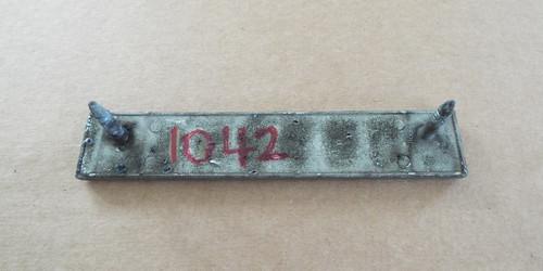 Original 1972 Chrysler Town & Country Grille Emblem-Badge