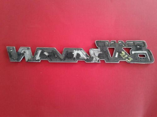 Original 1987-1988-1989-1990 Dodge Grand Caravan-Grand Caravan Liftgate Emblem-Badge